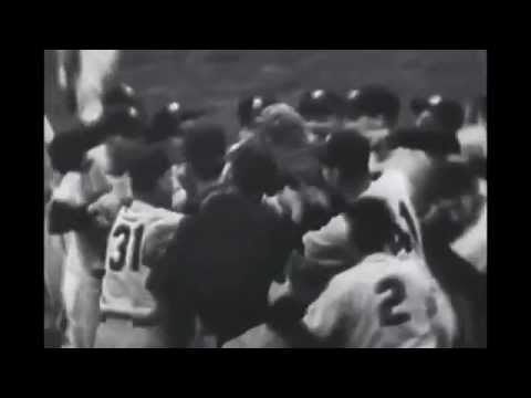 Last Pitch of the MLB World Series From 1952-1961 (NO MUSIC)