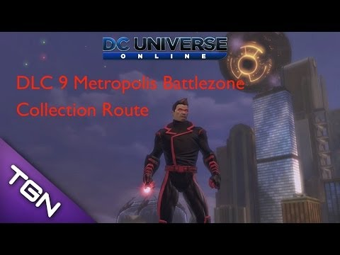DC Universe Online DLC 9 Battlezone Collections Route