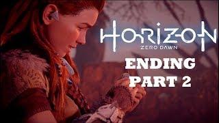 Horizon Zero Dawn Complete Edition PS4 Ending part 2