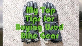 My Top Tips for Buying Used Bike Gear - Kawasaki ER6f / Ninja 650 - MotoVlog