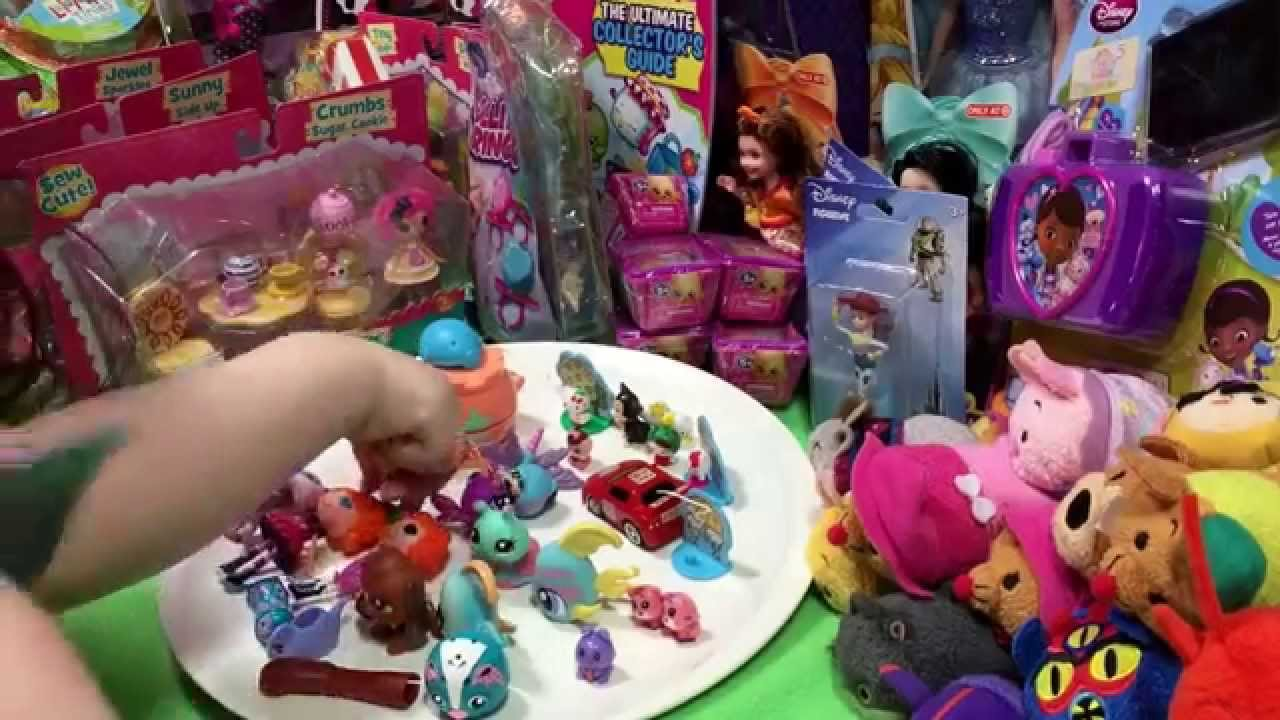 Hello Kitty And Toy Story Jessie Images : Lalaloopsy littlest pet shop disney hello kitty squinkies