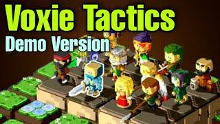 Voxie Tactics Demo Version   First Look   NFT Blockchain Game Under Etherium (Tagalog)