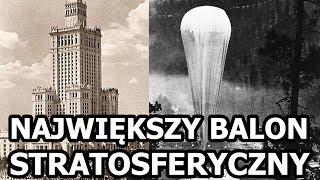 Gwiazda Polski - Największy Balon Stratosferyczny