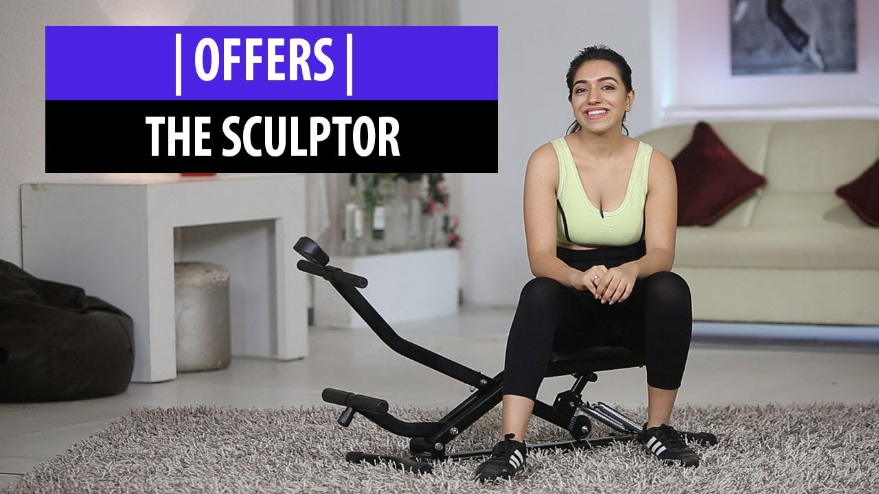Sculptor Full Body Exercise Machine Review and Offer - YouTube
