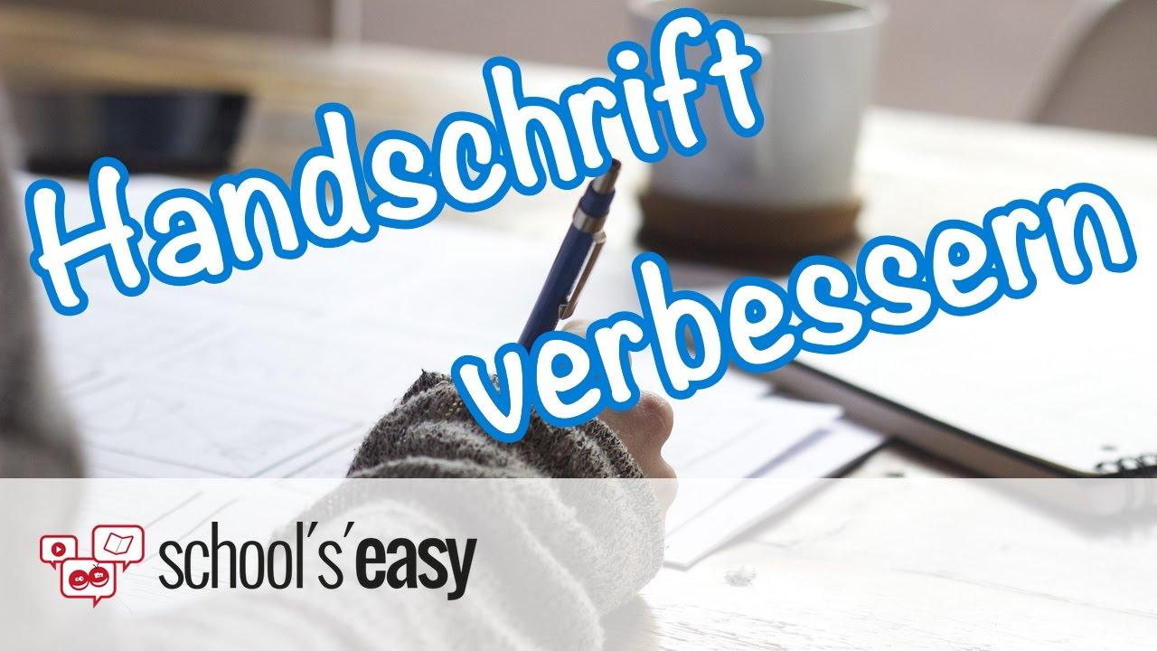 handschrift verbessern so wird sie sch246ner youtube