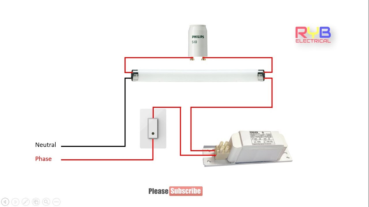 hight resolution of fluorescent light wiring diagram