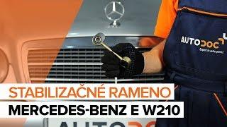 Mercedes W210 – zoznam videí k oprave auta