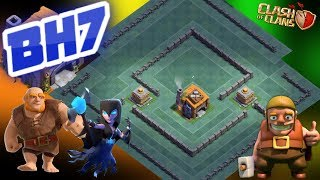 BEST BH7 BASE 2018 !! EASY PUSH TO 5000 TROPHY BUILDER HALL 7 BASE REPLAY PROOF - CLASH OF CLANS