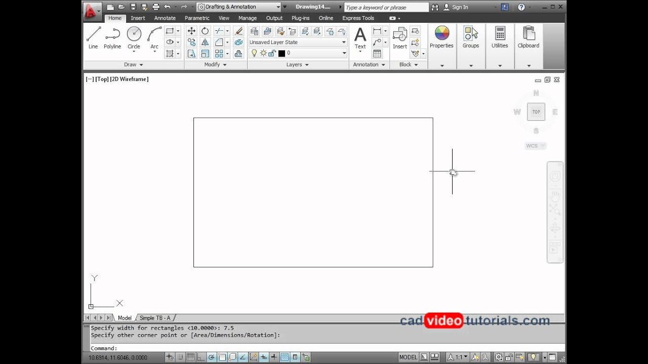 Drawing Lines With Arrows In Autocad : Autocad drawing project arrow sign youtube