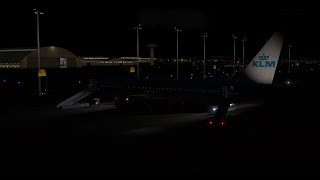 [X Plane 11] KLM74S Lisbon(LPPT) Amsterdam(EHAM) Zibo Boeing 737-800