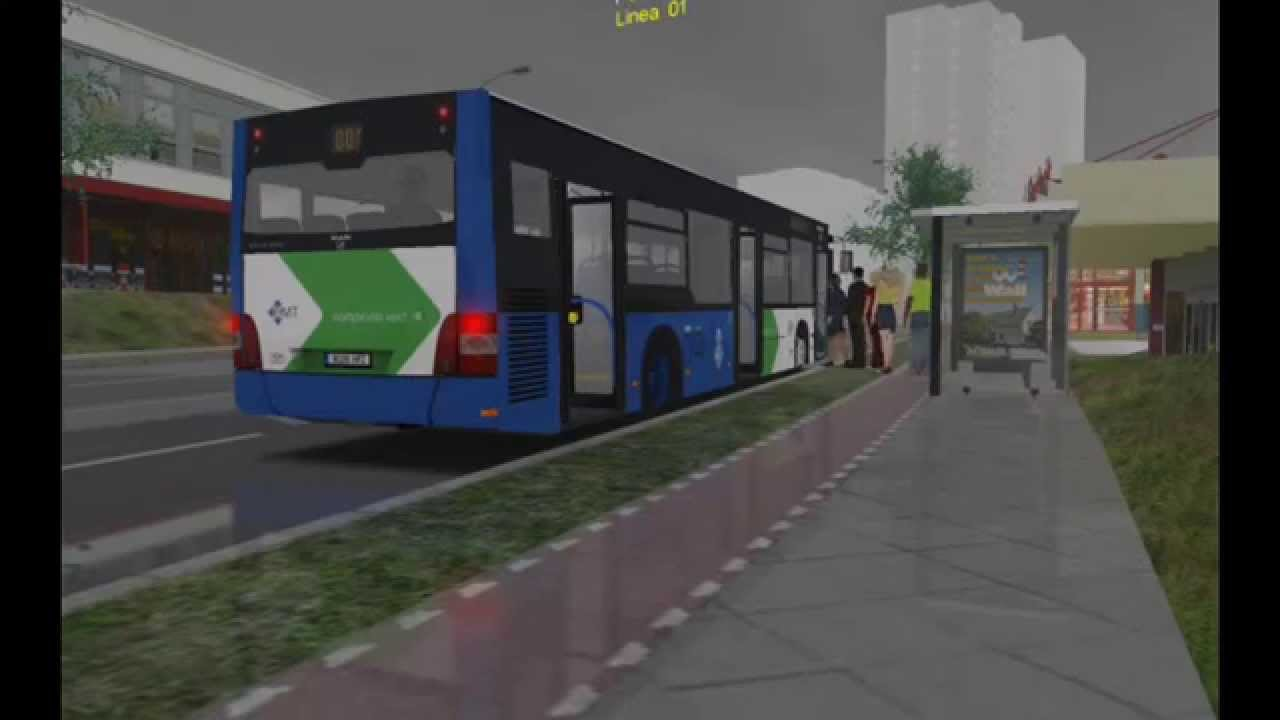 OMSI Bus Simulator  Man Lions City  EMT Palma de Mallorca  YouTube