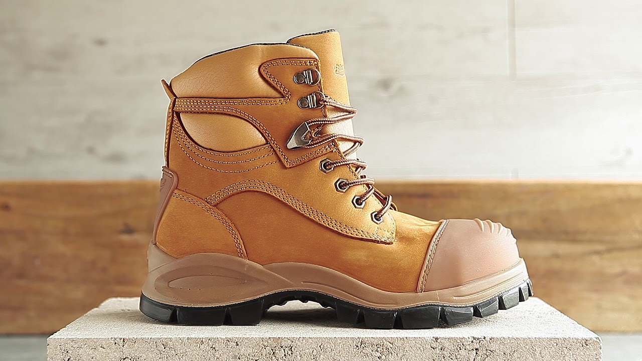 b8f9331afff Blundstone 992 Lace Up Zip Side Boot | WorkwearHub
