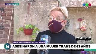 Homicidio en Barrio LIceo: mataron a una mujer trans