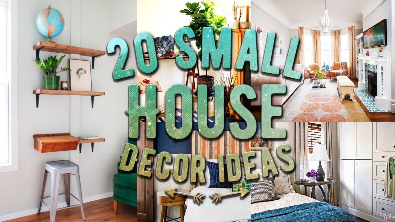 20 Small House Decor Ideas Youtube