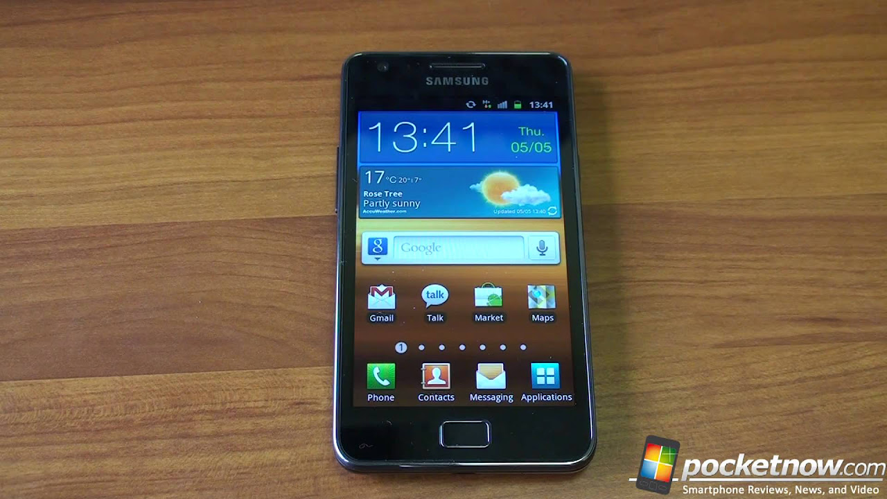 Samsung Galaxy S 2 Unboxing   Pocketnow