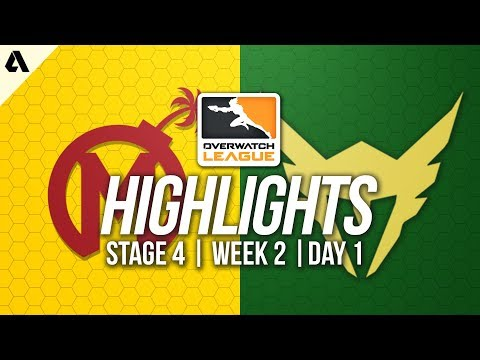Florida Mayhem vs Los Angeles Valiant | Overwatch League Highlights OWL Stage 4 Week 2 Day 1