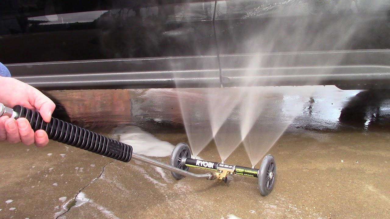 Ryobi Undercarriage Cleaner It S A Winner Youtube