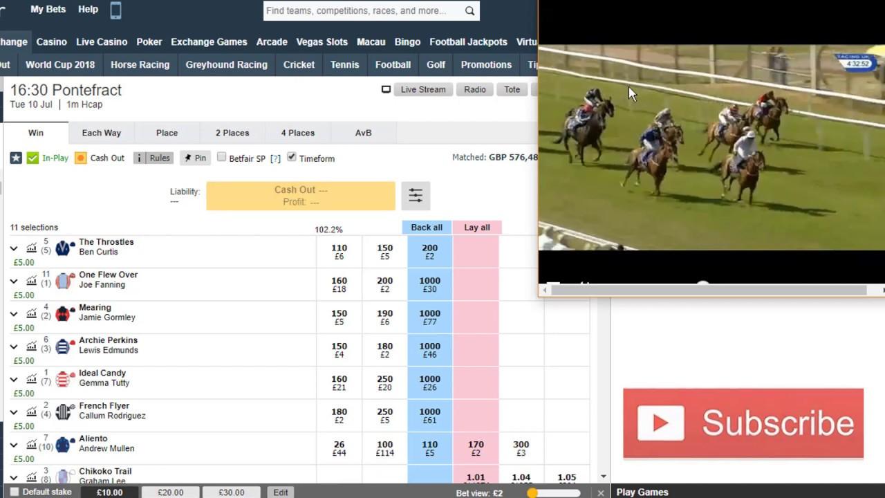 Betting laying horses kronvall betting tips