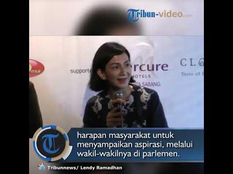Wanda Hamidah : Bersihnya Para Caleg dalam Pemilu 2019 Merupakan  Harapan Masyarakat