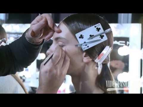 Holly Fulton Fall 2014 London Fashion Week Backstage, interviews & runway | Videofashion