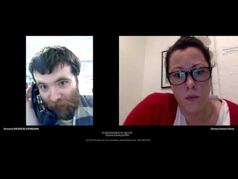 HD Best Quality Nick Godejohn Jail Interview - Gypsy Rose - Dee Dee Blanchard Trial Original