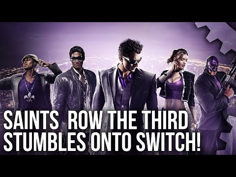 Saints Row the Third on Switch: A Portable Success or Failure? + Bonus Ray Tracing on PC!