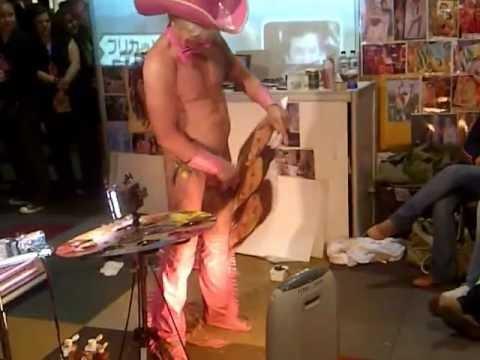 Picaso Penis Painter Pricasso Dick Painter Sexpo 2012
