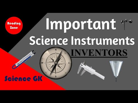 Science Instruments And Their Uses