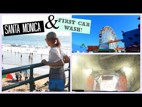 SANTA MONICA & IT'S JUST A FRICKIN CAR WASH!