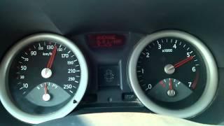 Renault Megane Classic 1.6 16V accelerazione 0 - 170 km/h
