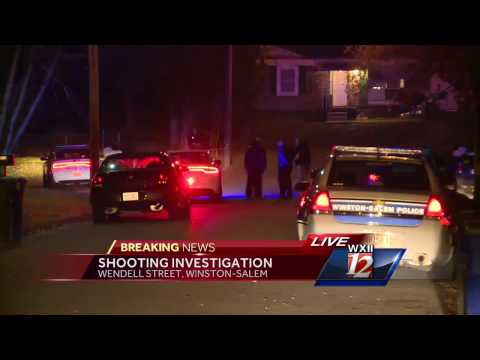 10PM Breaking News Shooting in Winston Salem (11/29/2016)