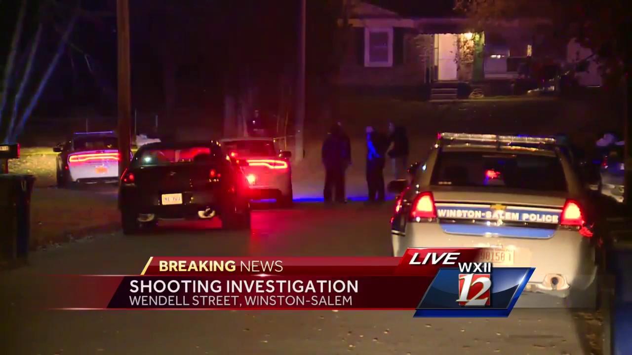 10PM Breaking News Shooting in Winston Salem (11/29/2016)
