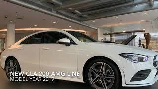 Mercedes-Benz New CLA 200 AMG Line FL Model Year 2019