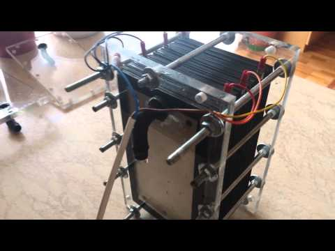 hho generator with 31 aluminum plates