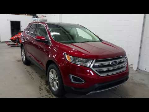 2017 Ford Edge SEL W/ Trailer Tow, Projection Lights, Block Heater Review | Boundary Ford