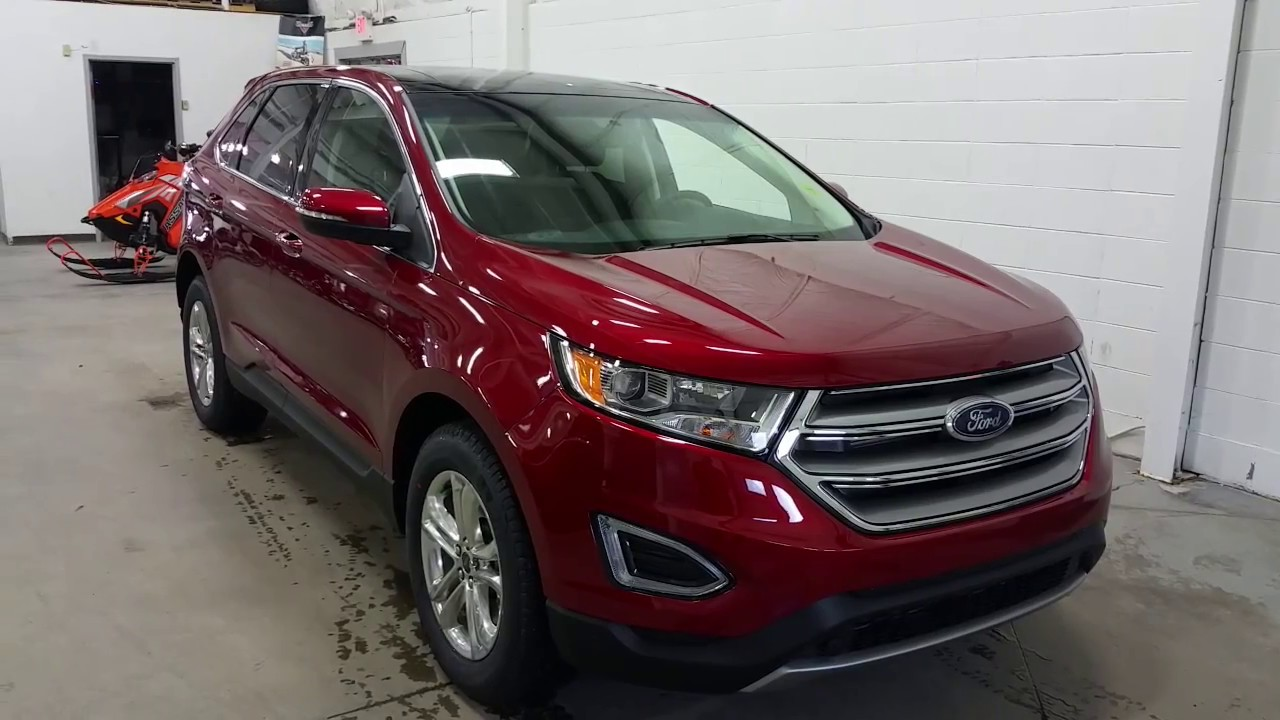 Ford Edge Sel W Trailer Tow Projection Lights Block Heater Review Boundary Ford