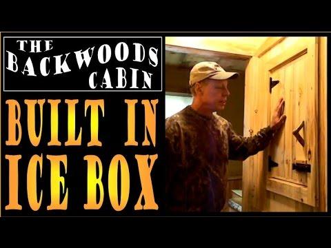 backwoods-cabin---built-in-icebox.-off-grid-refrigeration.