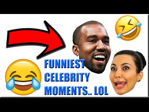 TOP FUNNIEST CELEBRITY MOMENTS EVER LOL.. [MUST WATCH]