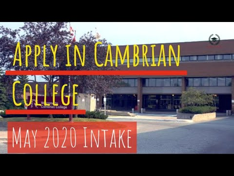 Cambrian College Upgrading Youtube