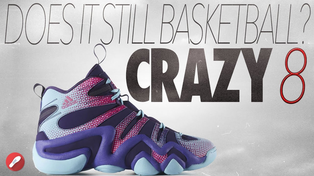 big sale 1df90 ee2d5 Adidas Crazy 8! - YouTube