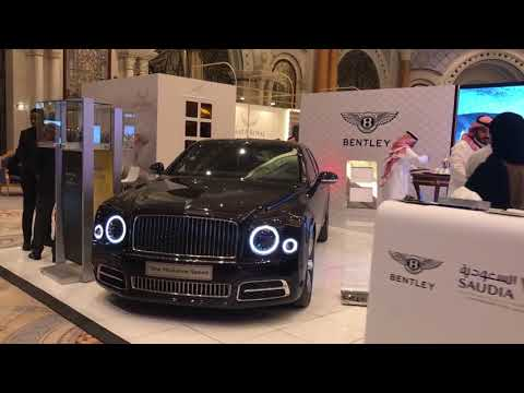 Bentley at the World Luxury Expo 2017