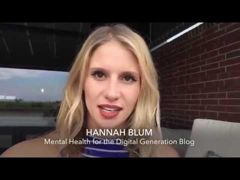 Meet Hannah Blum, Mental Health Blogger for Young Adults