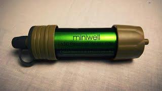 Походный фильтр Miniwell с Aliexpress