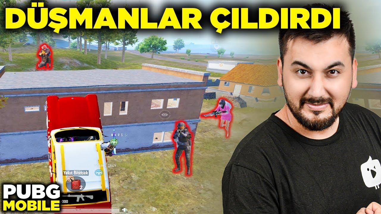 Download BAYRAK ATAN TAKIMLA DÜŞMANLARI ÇILDIRTTIK / PUBG MOBILE
