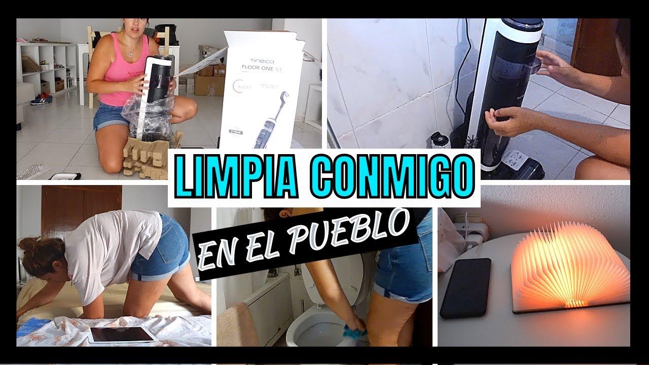 🧹 LIMPIA conmigo la CASA del PUEBLO 2021 🏡 TINECO floor one s3 💦 MOTIVATE A LIMPIAR de VACACIONES