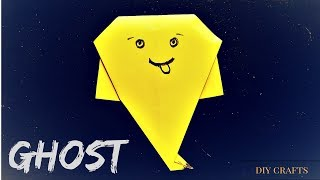 How to Make An Origami Ghost - Easy Origami Ghost Tutorial - Origami Ghost - Halloween Origami Ghost