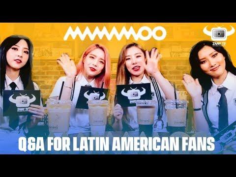 MAMAMOO Q&A FROM LATIN AMERICAN FANS! (ESP/POR/ENG/KOR SUBS)