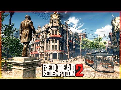 LA CIUDAD MAS GRANDE DE RED DEAD REDEMPTION 2 #8