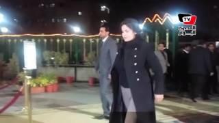 محمود سعد و«زكي بدر» وسما المصري في عزاء كريمة مختار