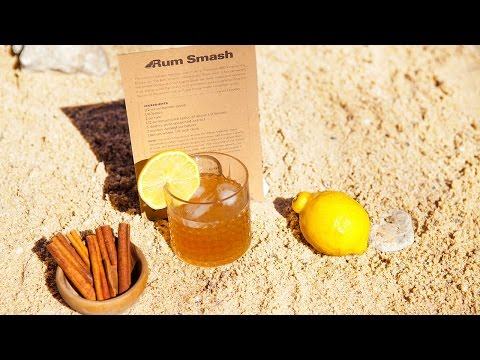 How to make Shaker & Spoon's Rum Smash cocktail